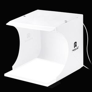 PULUZ Mini studio fotografico portatile a led 22,5 LED Fotografia Shadowless Luce inferiore del pannello della lampada Pad + 2LED Pannelli 20CM lightbox Studio fotografico