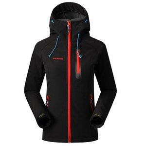 Softshell Jacket Women Brand Impermeable Rain Coat Outdoor Hiking Clothing Mujer a prueba de viento Soft Shell Fleece Chaquetas Envío gratis