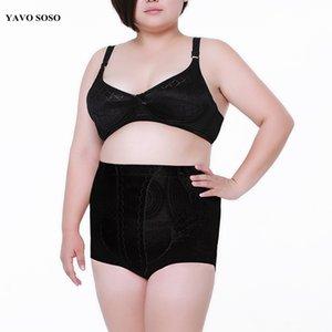 YAVO SOSO Encaje Sexy Transpirable Tallas grandes 5XL cintura alta ropa interior de mujer pantalones de control de control de las bragas delgadas cuerpo delgado formadores