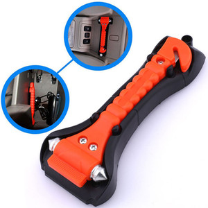 Outdoor Survival Portable Safety Hammer Camping Driving Car Seat Belt Cutter Emergency Escape Hammer to Break Window Glass