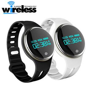 E07 Bluetooth intelligente montre Wristband message étanche appel Rappel Passometer Bracelet Fitness Tracker pour Android