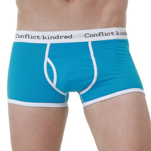Nuevos calzoncillos hombre 10 unids cuecas hombres de la marca boxer algodón 365 boxers shorts sexy U diseño de ropa interior para hombre cueca Calzoncillos