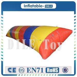 Envío gratis a la puerta 6x3 m que vende la gota de salto inflable, gota inflable del agua, bolso que despide para el adulto
