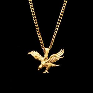 새로운 Dapeng 날개 이글 펜던트 목걸이 럭키 동물 그림 힙합 남자 Jewelly 매력 보석 체인