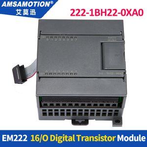 Amsamotion EM222 6ES7 222-1BH22-0XA0 16Output 24V DC Digital Module 222-1HH22-0XA0 222-1BL22-0XA0 For Siemens S7-200 PLC extensible mould