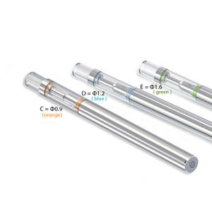 2018 Newest Bud-D1 Glass Cartridge Disposable Vape Pen Vertical Ceramic Coil Thick Oil Atomizer With O Pen Vapor Starter Kits