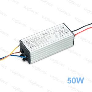 Iluminación Transformers adaptador 50W de potencia completa 1500mA impermeable AC110V AC220V de aluminio de silicona para los reflectores de gran altura de la lámpara de DHL