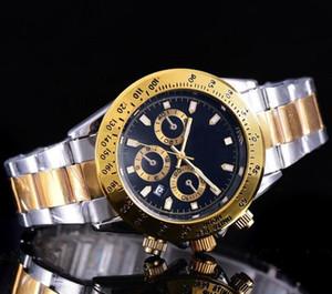 Relojes de lujo de los hombres de negocios clásico vestido de cuarzo wirst reloj para hombre erkek kol saati + Mujeres Led Reloj de mesa de Navidad regalo