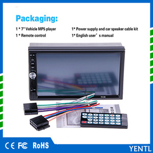YENTL Disponibile 7 pollici Touch Screen 2din Car DVD VW Golf Polo Jetta Passat Tiguan con Bluetooth Radio USB SD volante universale