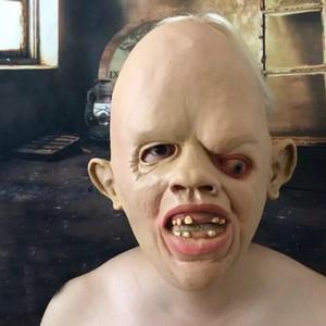 Скриншот Ужас Монстр-маска 2017 Хэллоуин Дом с привидениями Полный голова Лицо Зомби-маски Хэллоуин Зомби-капюшон Ужасная маска