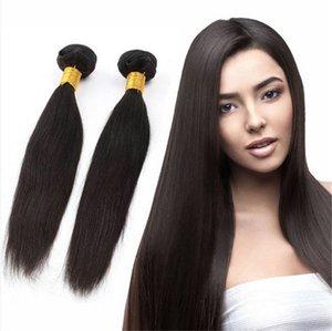 cheveux vierges brazilian Braid en paquets cousent pas sans crochet de style brésilien bouclés non transformés droite cheveux crépus vierge brazilian