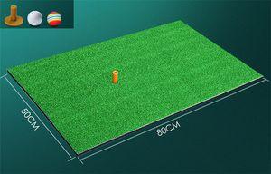 Tapis de golf mini-golf 50 * 80 tapis de bureau à domicile avec tapis de pratique