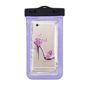 Cell Phones PVC Pouch Dry Bag Case For iPhone 7 6 Plus Samsung Galaxy Smart Mobile Phone Transparent Hot