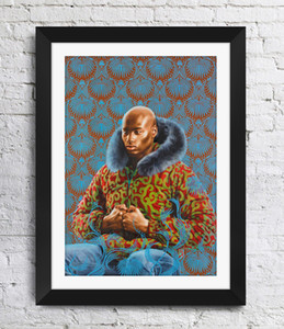 Kehinde Wiley Art Painting Art Poster Decoración de la pared Fotos Art Print Poster Unframe 16 24 36 47 pulgadas