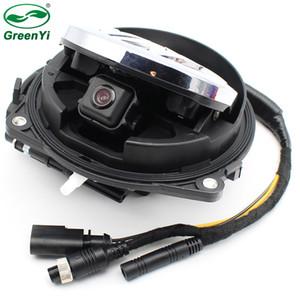 Coche inteligente Flip Trunk Handle Cámara de visión trasera Cámara de copia de seguridad inversa para VW CC Golf 6 Passat B7 Magotan DVD Monitor