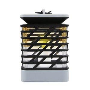 Solar LED luci da giardino fiamma Lanterna fuoco danza lampada esterna a led luci solari recinzione sfarfallio danzante