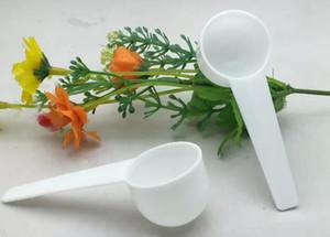 10ML 5G قياس البلاستيك مغرفة PP قياس ملعقة قياس البلاستيك مغرفة 5G قياس ملاعق مطبخ أداة