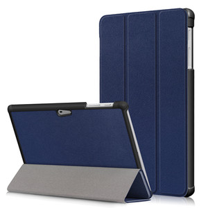 Бизнес-стенд Funda PU кожаный чехол для Microsoft Surface Go 10-дюймовый планшет Tri-fold Folio Cover + Стилус