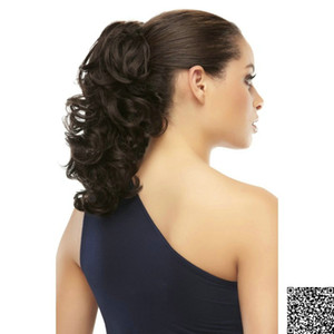 Echo body wave Ponytail Extensión del pelo real Cordón del cabello humano Cola de caballo Postizo 100g-140g natural negro 1b # 120g