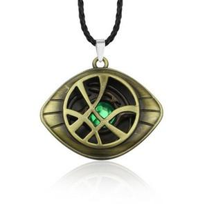 Doctor Strange Necklace Oeil de cristal d'Agamotto Pendentif à la mode