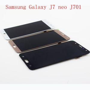 "100% getestet TFT Hohe Qualität 5,5 ""LCD Display Touchscreen Für Samsung Galaxy J7 neo J701 J701F J701M LCD Digitizer Assembly"