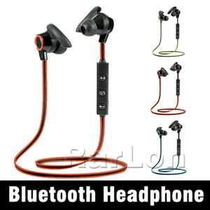 Новое поступление Оптовая продажа AMW-810 Bluetooth наушники Спорт работает наушники стерео беспроводная гарнитура наушники с микрофоном для iphone samsung