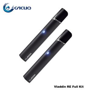 Аутентичные Vladdin заново полный комплект 12 Вт батарея 350mah 1,5 мл многоразового РМО Vape с запатентованной керамической катушки внутри форсунки патрон