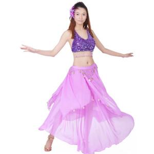 Performans Wear için Belly Dance Kostüm Dans Elbise Kadınlar Bollywood Kostümler