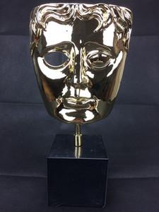 Prémio BAFTA, Prémio BAFTA Metal BAFTA, Prémio troféu Britsish Academy Film, cor dourada ou prateada e base preta