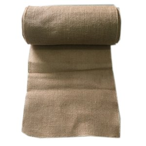 10M*33CM Hessian Jute Burlap Roll For Wedding Party Banquet Home Table Runner Venue Arch Decorations Favors