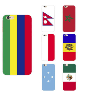 Mauritius Mexico Micronesia Federated States Moldova Monaco Morocco Nepal National Flag Theme TPU Phone Cases For iPhone 6 6s 7 7s 11 8s X