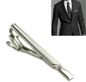 Delicate Gentleman Silver Metal Tie Clips Classical Simple Tie Clasp Tie Bar Business Suits Accessorie Multi Styles