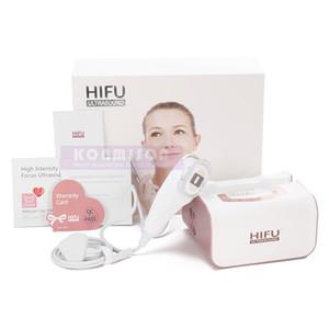 Máquina de ultrasonido enfocado de alta intensidad 2 en 1 con 2 unids cartuchos para la eliminación de arrugas en la cara y los ojos Apriete de la piel RF
