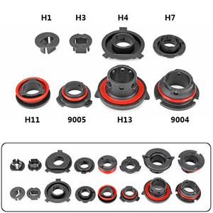2x лампы базисы Автомобильные светодиодные лампы Фара адаптер держатель Sockets Фиксатор для H1 H3 H4 H7 H11 H13 9004 9005