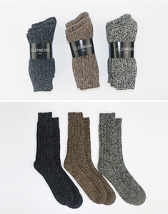 3pk Merino Wool Mujeres / Hombres Calcetines Marca de grado superior Cáñamo Invierno Cálido Grueso Coolmax Compresión Calcetería Bota de nieve Damas / Hombres Calcetines al por mayor