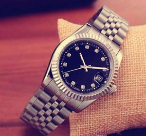 2019 top brand di lusso uomini della vigilanza del calendario Black Bay progettista diamante orologi vestito all'ingrosso delle donne di alta qualità in oro rosa orologio Reloj mujer