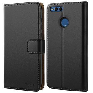 Pour Honor 7X Case, Honor 10 Etui en cuir Huawei Mate SE Case Premium pour Huawei Honor 7X / Huawei Mate SE Etui portefeuille pour téléphone