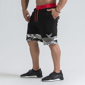 Mens Shorts de Culturismo Treino de Fitness 3 Inseam Inferior de Algodão Masculino Moda Casual Calças Curtas Roupas de Marca Mma Muay Thai Novo