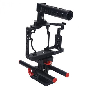 Caméra stabilisateur Cage Kit pour Sony A7II A7R A7S avec poignée Follow Focus Rods
