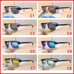 756 del progettista di marca degli occhiali da sole metallo di alta qualità cerniera degli occhiali da sole Occhiali da Donne Occhiali da sole lente UV400 Unisex