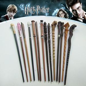 50 Styles Neueste Metal Core Harry Potter Zauberstab Lord Voldemort Cosplay Zauberstab Neuheit Artikel OTH496
