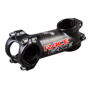 RACE FACE Next Aluminium AlloyCarbon Fibre Route / VTT Vélo Stem 3K mat 6/17 Degree Aluminium Carbone Support Vélo 31,8 / 28,6 mm