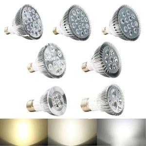 DHL Dimmable Levou lâmpadas par38 par20 85-240 V 9 W 10 W 14 W 18 W 24 W 30 W E27 par 20 38 Lâmpada LED levou holofotes downlight