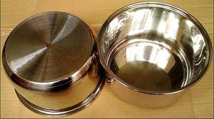 5Lrice cooker stainless steel non-stick inner pot ice bucket ice beer barrels dog supplies pet big dog bowl water bowls drinker