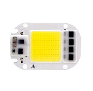 LED COB رقاقة 50W 30W 20W 110V 220V الذكية IC لا تحتاج سائق الإدخال السامية لومينز رقاقة لDIY LED الكاشف أضواء على ضوء الخرز
