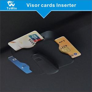 Multi-Funktions-Karten-Inserter gelten für Expressway IC Pass-Karte, Bank Card Clip, Sonnenbrille Visor Clip Gläser Halter