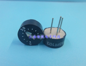 mix BI93PR Glass glaze round single ring preset potentiometer 93PR103, 10K,, ohm, WIW3009-103