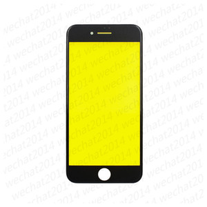 100PCS OEM Front Outer Touch Screen Glass Lens with Frame for iPhone 5 6 Plus 6s Plus 7 Plus free DHL