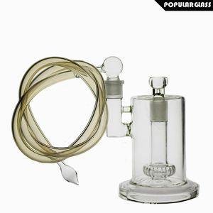 SAML стекло 25,5 см высокий стеклянный бонг headshow PERC бонги толстые нефтяные вышки высокое качество стекла водопровод совместных размер 18,8 мм PG5034 (FC-UFO)