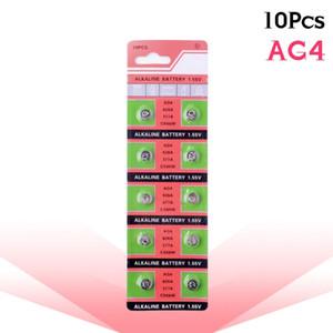 10 قطع بطاريات AG4 GA4 SR626 376 377 565 D377 LR626 LR66 SR66 ووتش عملة البطارية